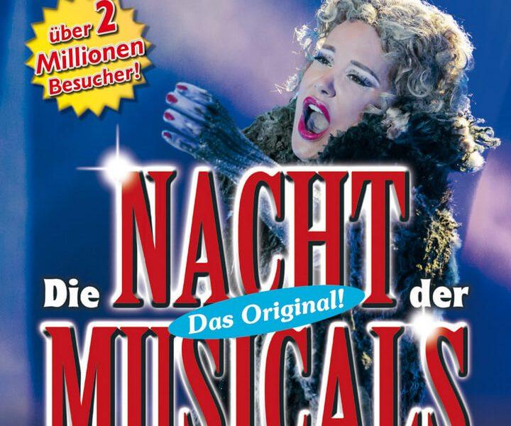 Plakatmotiv quadratisch Die Nacht der Musicals