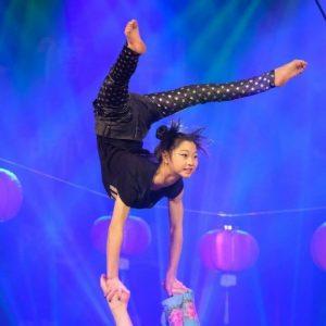 Pressefoto quadratisch Chinesischer Nationalcircus China Girl copyright Art Nations Entertainment GmbH