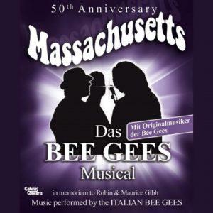 Plakat Bee Gees Musical Massachusetts