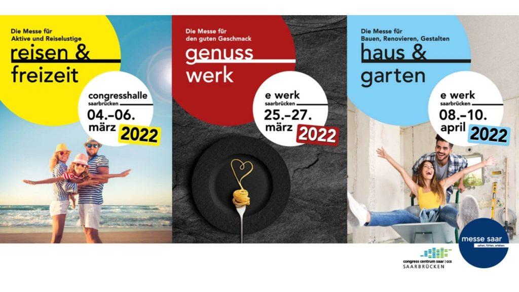 Messen Saar Ankuendigung Messen fuer 2022